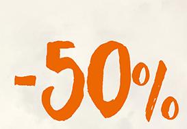 -50% auf komplette Brillen + gratis Sehtest