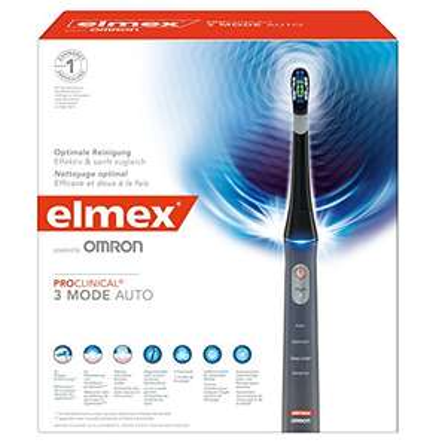 [www.AMAZON.de]  elmex ProClinical 3 Mode Auto elektrische Zahnbürste für € 67,12 Vorbestellbar