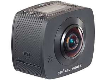 360°-Full-HD-Action-Cam mit 2 Objektiven