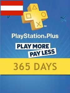 Playstation Plus CARD PSN AUSTRIA 1 Jahr auf g2a.com