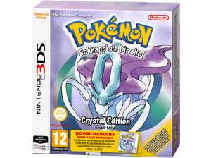 2DS, 3DS Pokémon Kristall/ Pokemon Silber (Code in a Box)
