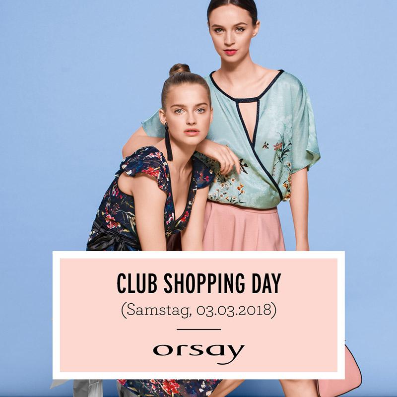 Orsay: 25% Rabatt für Club-Mitglieder - nur am 3. März