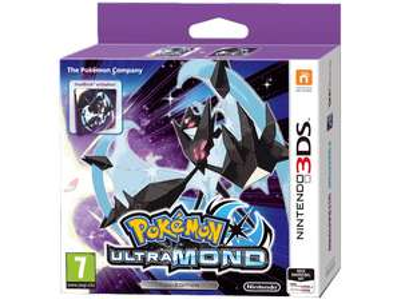 [Mediamarkt 8 bis 8 Nacht] Pokémon Ultramond und Ultra Sonne – Fan-Edition - [Nintendo 3DS] für je 27,-€