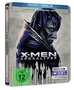 X-Men Apocalypse Limited Edition Steelbook (Blu-ray + UV Copy) für 9,97€ (Amazon Prime)
