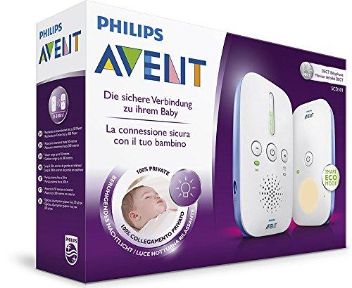 Amazon Philips Avent SCD501/00 DECT Babyphone (Smart Eco Mode, Nachtlicht)