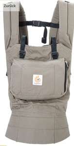 Ergo Baby Original Carrier (One Size bis Max. 20kg) in Khaki um knackige 24,77