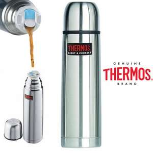 Thermos Edelstahl-Thermosflasche (1l)
