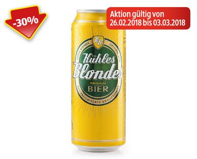 [Hofer] Kühles Blondes - 0,5l Bier für 55 cent, -30% für eine Woche.