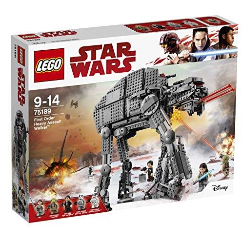 Amazon.de: LEGO 75189, Star Wars Episode VIII - First Order Heavy Assault Walker um 90,73€