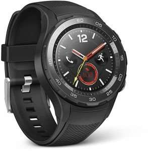 Amazon.co.uk / Stornoparty: Huawei Watch 2 mit Sportarmband um 100,53€