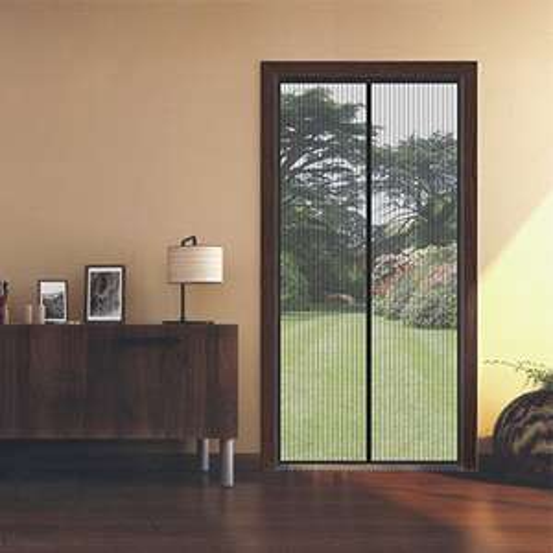 Fliegengitter Tür Insektenschutz Magnet Fliegenvorhang 90*210 | 110*220 - Klebmontage ohne Bohren