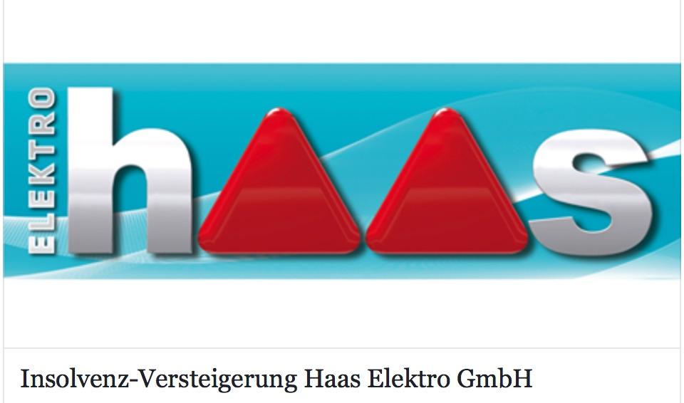 Insolvenz Versteigerung der HAAS Elektro GmbH (bis 05.03.2018) Tag 1/2