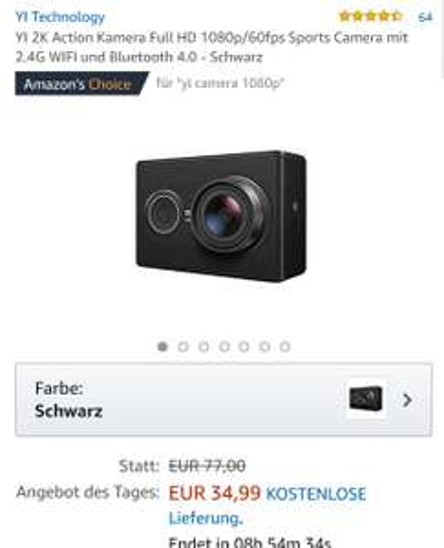 Yi2k Amazon 34.99€