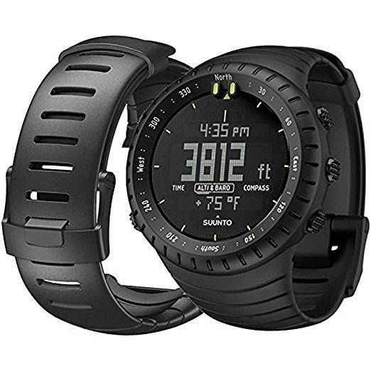 Suunto Multifunktionsuhr All Core Black (Höhenmesser, Barometer, Tiefenmesser, Temperatur, Wettervorhersage)