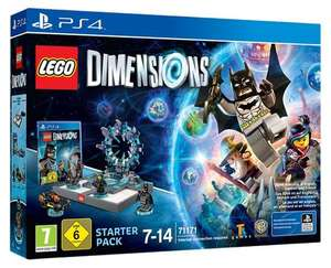 LEGO Dimensions Starter-Pack inkl. Figur Supergirl (PlayStation 4 / Xbox One / Wii U / PS3 / X360) für 29,99€