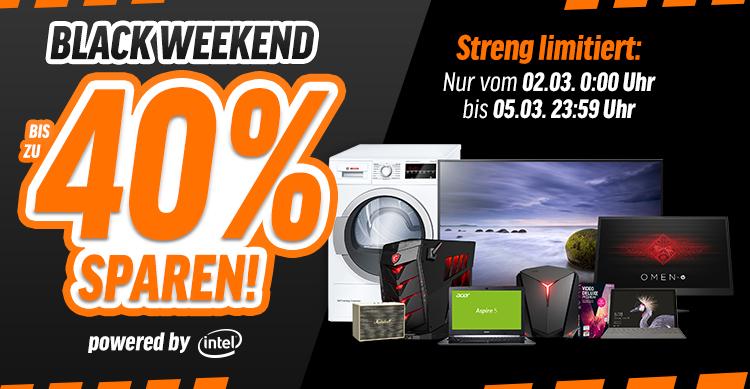 [NBB] Black Weekend: Bis zu 40 % auf PCs, Notebooks, Smartphones, Tablets, ...
