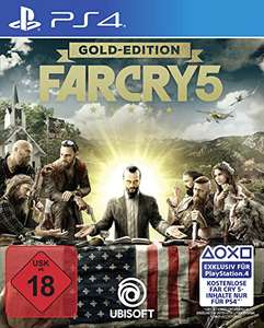 (PS4) Far Cry 5 Gold Edition (inkl. Season Pass) für 73,62 Euro Vorbestellen (Prime)