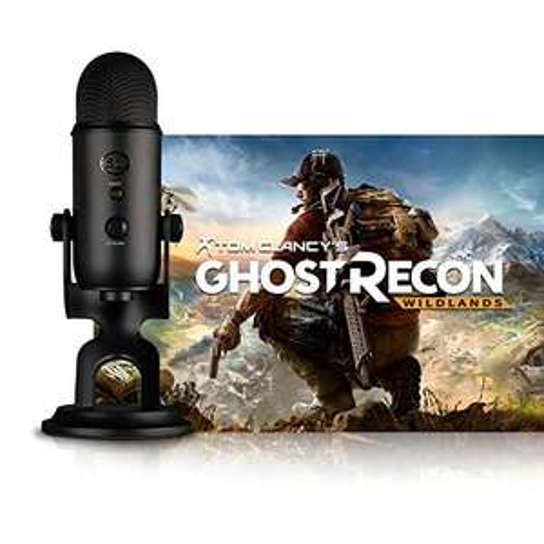 Blue Blackout Yeti + Tom Clancy's Ghost Recon Wildlands oder Watch_Dogs 2 [PC] für 95,99€ [Amazon]