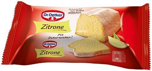 Dr. Oetker Fertigkuchen Zitronenkuchen, 4er Pack (4 x 350 g) [Amazon Prime]