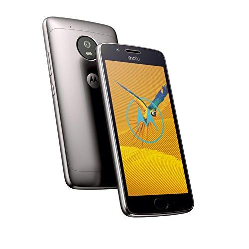 Amazon Motorola Moto G5 Smartphone (12,7 cm (5 Zoll), 2 GB RAM/16 GB, Android) Lunar Grey(Dual SIM)