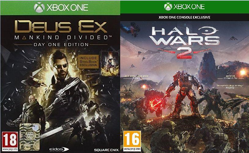 [Saturn] Halo Wars 2 [Xbox One]  für 10,-€ Versandkostenfrei // Deus Ex: Mankind Divided Day One Edition (Xbox One) für 6,-€ Versandkostenfrei