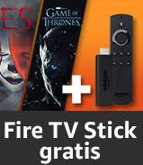 Amazon.de: Filme/Serien um 50€ kaufen, gratis Fire TV Stick dazu