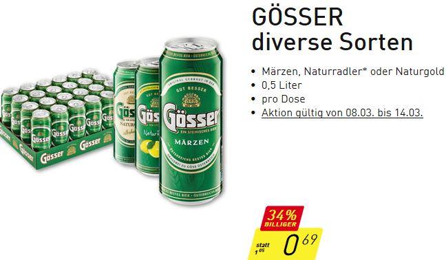 PENNY GÖSSER Naturradler 0,5 Liter ab 8.3. bis 14.3.