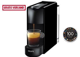 Nespresso Maschine zum Knallerpreis inklusive 100 Kapseln gratis!