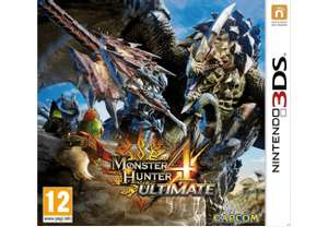 Monster Hunter 4 Ultimate (Nintendo 3DS) für 15€