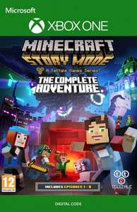 [cdkeys.com] Minecraft Story Mode - Complete Adventure Episode 1-8 (Xbox One)
