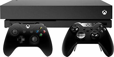 Quelle Xbox One X 1 TB (Konsolen Bundle, inkl. Xbox One Elite Wireless Controller) // plus 8% Cashback