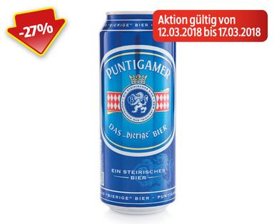 HOFER Puntigamer Bier ab nur einer Dose 12.3. bis 17.3.