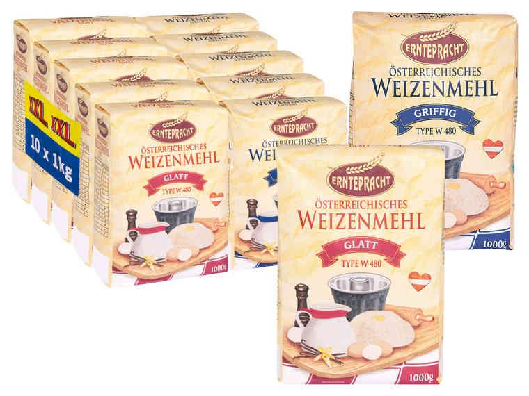 [Lidl] Lebensmittel zum Osterbacken - 10 Pkg. Weizenmehl glatt / griffig für 3,50 € und 10 Pkg. Normalkristallzucker für 5,90 €