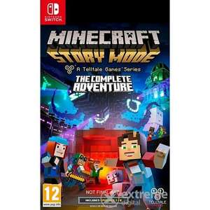 Minecraft Story Mode:The Complete Adventure Nintendo Switch