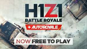 Steam: H1Z1 + Autoroyale gratis/free-to-play