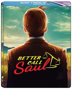 [Amazon.co.uk] Better Call Saul - Season 1 Blu-ray (Limited Steelbook)