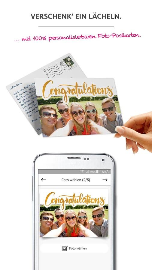 Gratis Postkarte mit eigenem Bild versenden mit MyPostcard [Android/IOS/Mypostcard.com]