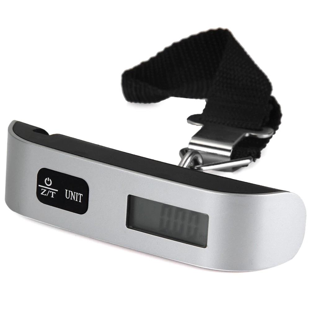 Hostweigh NS-14 LCD-Kofferwaage (bis 50kg) mit Thermometer