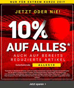 [Tennis Point] 10% Rabatt auf (fast) alles