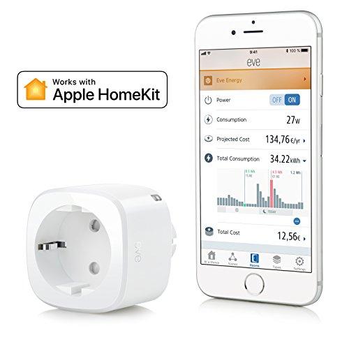 Elgato Eve Energy - Smarte Steckdose mit Verbrauchsmessung