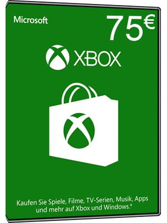 [mmoga.de] Angebote Xbox Live Guthaben - 75 €, 50 €, 30 €