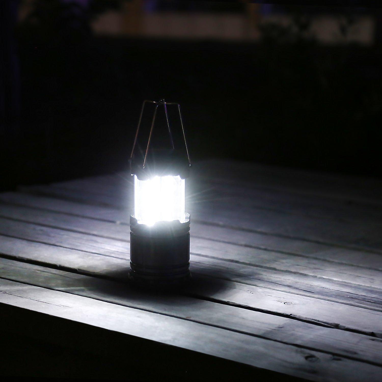 Camping Laterne, LED Camping Beleuchtung, 2er Set