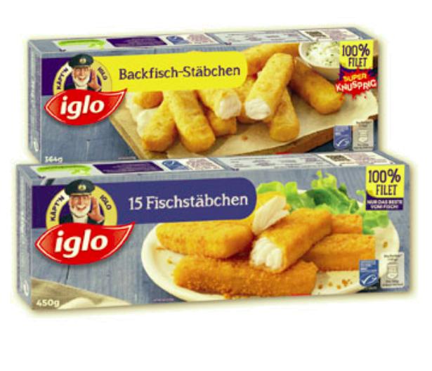 Penny: Iglo Fischstäbchen/ Backfischstäbchen (15.3. - 21.3.)