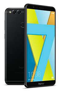 Honor 7X Smartphone (15,06 cm (5,93 Zoll) Display, 64 GB interner Speicher, Android 7.0) Midnight Black