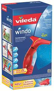 Amazon Vileda Windomatic Fenstersauger mit Spray Einwascher 33,59 Euro