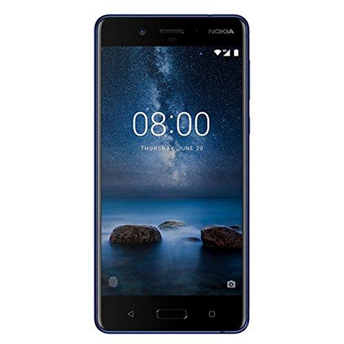 Amazon.es: Nokia 8, 64GB Dual Sim, Mattblau, um 341,98€
