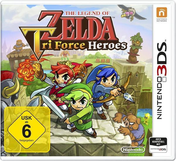 The Legend of Zelda: Tri Force Heroes (3DS) für 9,99€