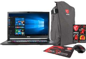 [MediaMarkt.at] / MSI Gaming Notebook GE73 7RD-016DE  + GRATIS Gaming Bundle (~100€)