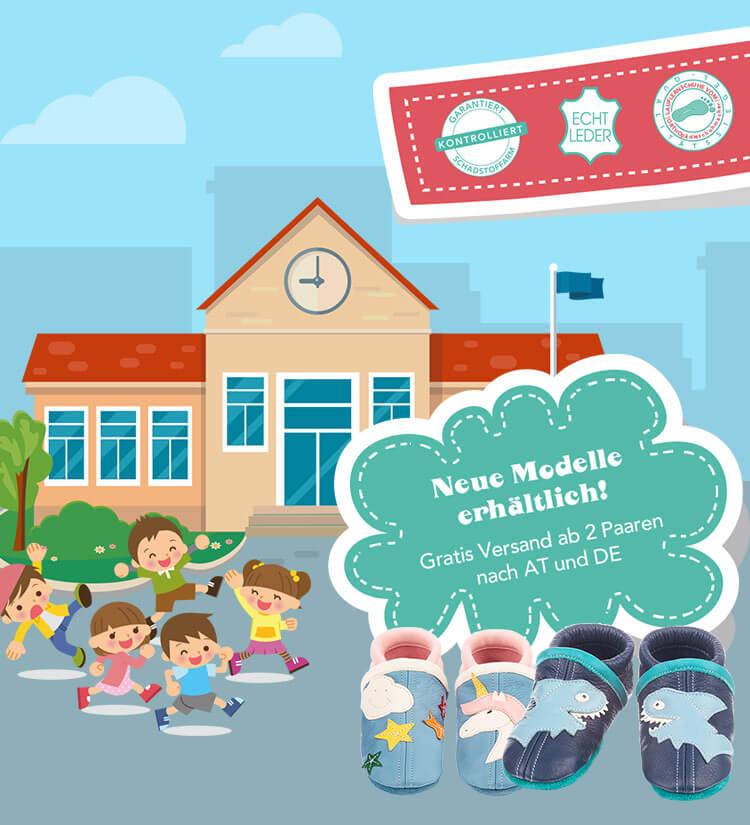 20% Rabatt auf ALLE Krabbel- & Lauflernschuhe von soccci! + Gratis Versand