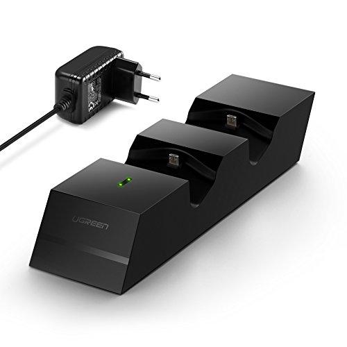 UGreen Docking Station für 2 PS4 Controller
